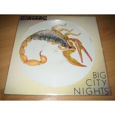 "EX! THE SCORPIONS - BIG CITY NIGHTS 12"" VINYL PICTURE PIC DISC"