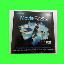 Sony Movie Studio Platinum 12 Suite DVD Version  Windows Vista, 7, 8, & 10