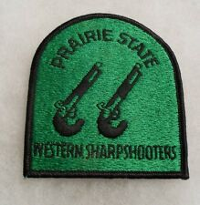 "ILL NG 66TH VOLS RGT GOES BACK CIVIL WAR ""PRAIRIE STATE WESTERN SHARPSHOOTERS"""