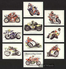 Motociclo RACERS MIKE HAILWOOD Joey Dunlop carte commerciali