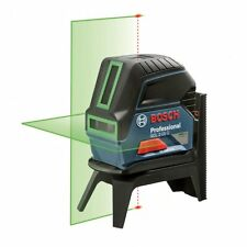 BOSCH 15m GCL-2-15G auto nivellement green cross line laser & plumb level + étui