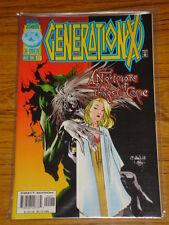 X-MEN GENERATION X #22 VOL1 MARVEL COMICS DECEMBER 1996