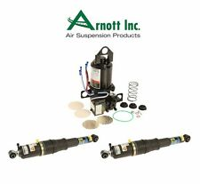 Cadillac Escalade Rear Set of 2 Shock Absorbers + Suspension Compressor Arnott