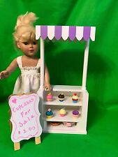 "Snack Stand / Ice Cream / Cafe Cart - American Girl, Our Generation 18"" Doll"