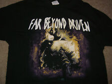 "Pantera 1994 Tour ""Far Beyond Driven"" T Shirt Size XL"
