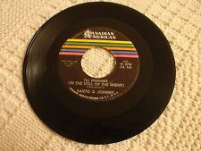 SANTO & JOHNNY I REMEMBER IN THE STILL OF THE NIGHT/ROSEMARY CANADIAN AMERICAN