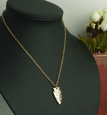 Womens Chic Irregular Gold Plated Statement Pendant Chain Necklace Jewelry Gift