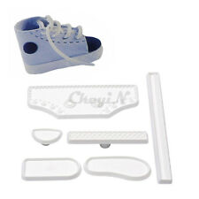 New Shoe Shape Decorating DIY Tool Fondant Cake Baby Sneaker Mold
