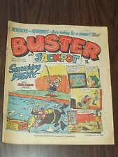 BUSTER AND JACKPOT MARCH 13 1982 BRITISH WEEKLY COMIC^