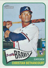2014 Topps Heritage #H567 Christian Bethancourt RC