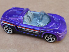 2013 Matchbox OPEL SPEEDSTER 104/120 MBX Adventure City LOOSE Purple