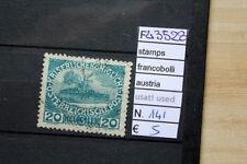 FRANCOBOLLI AUSTRIA USATI STAMPS AUSTRIA USED N°141 (F43528)
