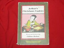 1972 HARDCOVER AN I CAN READ BOOK  - ARTHUR'S CHRISTMAS COOKIES BY LILLIAN HOBAN