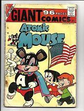 GIANT COMICS # 1 (ATOMIC MOUSE, CHARLTON COMICS, 1957), GD+