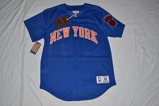 Mitchell & Ness NEW YORK KNICKS NBA MESH BUTTON  FRONT JERSEY 165JA 52 2XL