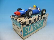 Scalextric C72 brm en bleu avec nez rouge, boxed