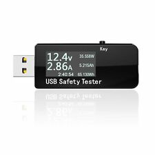 New USB Safety Tester Capacity Detector Timer for Quick Charge Cellphone Charger