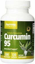 Jarrow Formulas Curcumin 95 500 mg 120 Capsules BEST PRICE FREE SHIPPING
