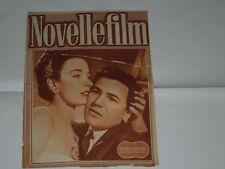 JOHN GARFIELD E PATRICIA MORISON - NOVELLE FILM N.29 DEL 10/7/1948 IMPERDIB.