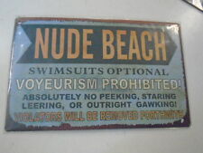 Nude Beach New Made to Look Vintage Swimsuits Optional Voyeurism Prohited