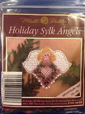 Mill Hill Holiday Sylk Angels Cross Stitch Kit. Heather Angel