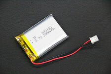 3.7V Polymer Rechargeable Battery 2000mAh PCM 103450 for GPS ipod Tablet PC MP3
