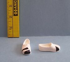 New MATTEL BOY MALE MONSTER HIGH DOLL BLACK & WHITE SLIP ON SHOES