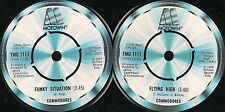 DISCO 45 GIRI   Commodores ‎– Flying High / Funky Situation