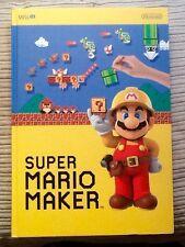 Exclusivo de Nintendo Super Mario Maker Promoción Limitada Portátil Para Coleccionistas De Tapa Dura
