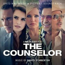 1 CENT CD The Counselor - SOUNDTRACK daniel pemberton