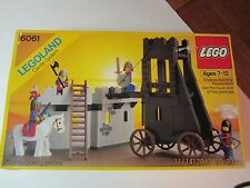 LEGO Castle Lion Knights Siege Tower #6061 In Box-1984-Great Condition!