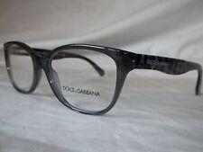 DOLCE & GABBANA D&G EYE GLASSES FRAME DG3136 1861 GRAY LEOPARD 53MM NEW AUTHENT