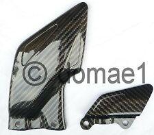 carbon fiber heel guards plates Honda CBR1000RR fireblade SC59 2008-2014
