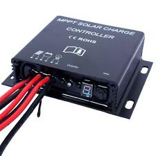 20A 12V/24V Auto LED MPPT Solar Battery Charge Controller Waterproof Timer SH