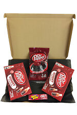 Dr Pepper Candy American Selection Gift Box - Twists, Gummy Soda Bottles & Gum