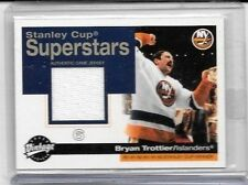 BRYAN TROTTIER 2001 UD VINTAGE STANLEY CUP SUPERSTARS GAME USED JERSEY