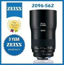 Pre-Order Zeiss Milvus 100mm f/2M ZF.2 Lens for Nikon F Mfr # 2096-562