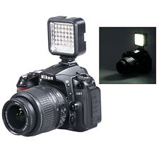 Bestlight Video Light 36 LED Rechargeable Battery f DV Canon Nikon Camera