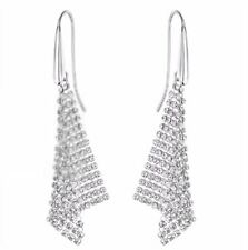 Swarovski Fit Small Pierced Earrings, ruthenium-plated Crystal Authentic 5143068