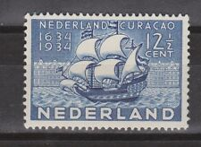 NVPH Netherlands Nederland nr 268 ong MLH 1934 Curacao Pays Bas