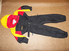 COLUMBIA SKI SNOW SUIT 1PC OUTFIT JACKET PANTS INSULATED HOOD BOY'S XXS 4 5 MINT