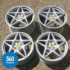 """ORIGINALE Ferrari 599 19 """" 20"""" friorano mesh SPOKE RUOTE IN LEGA 211025 211024 GTO G"""