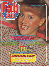Fab 208 Magazine 24 February 1979  Donny & Marie Osmond Billy Idol Professionals