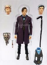 Doctor Who *TIME OF THE DR* figure REGENERATION 11th 12th CAPALDI SET CYBERMAN