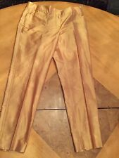 Brand new With tags Gold Silk Pants by ETCETERA/CARLISLE SZ12