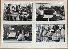 """JOSE TONITO Fine Art B&W 4 Silver Photographs""""Intransigente""""Miami Exiles History"""