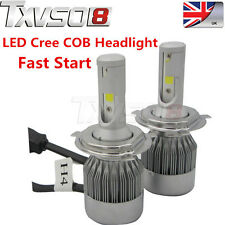 2PCS 55W H4 Hi/Lo HID CREE Beam Bi-Xenon Headlight Car Conversion Kit Pure 6000K