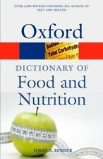 A Dictionary of Food and Nutrition (Oxford Quick Reference)-ExLibrary