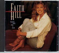 FAITH HILL - Take Me As I Am - CD Album