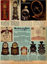 1969 ADVERTISEMENT Clock Seth Thomas Auditron Acrotyne Kenilworth Jefferson 500